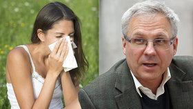 Neléčíte alergii? Hrozí vám astma, varuje imunolog a připomíná i riziko v době korony