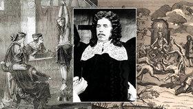 Sadistický úchyl Boblig se v mučení čarodějnic vyžíval: Nechal jim trhat ruce i nohy na skřipci!
