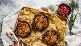 Žampiony portobello na grilu: Vyzkoušejte báječný houbový steak