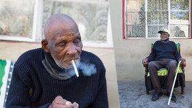 Nejstarší muž světa (116) přežil španělskou chřipku: Na pandemii koronaviru ho štve, že si nemůže koupit cigarety