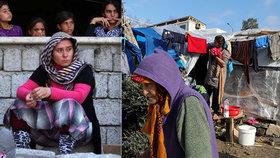 Utekly před ISIS a živoří v uprchlických táborech. Tisícovkám žen zabrali domy i pozemky