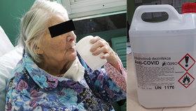 Důchodkyně z Berounska vypila dezinfekci Anti-Covid: Bála se nákazy koronavirem!