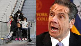 Strach obchází New York! Děti ohrožuje smrtící nemoc spojovaná s covid-19 a případů přibývá