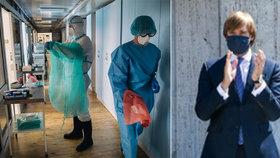 Záchranáři se můžou těšit na výplatu v červenci. Za pandemii dostanou 120 tisíc navíc