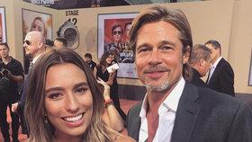Brad Pitt má novou známost: Krásnou blondýnu už stihl pozvat na rande!