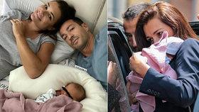 Novopečená maminka Šeredová (42): Pravda o odjezdu z porodnice! Jak dlouho tam byla?