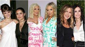 Nejlepší kamarádky Hollywoodu: Tyto slavné ženy si klacky pod nohy rozhodně neházejí!