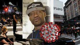 Zemřel po policejní brutalitě, Amerika bouří. Floyd měl ale i koronavirus, ukázala pitva