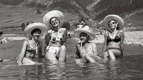 Retro fotky z dovolené za starých časů! Máte doma taky takové?
