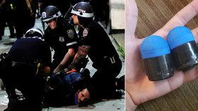 """""""Bezohledné a nebezpečné."""" Projektily americké policie mohou demonstranty zabít"""
