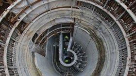 Odpadní voda padá z výšky 27 metrů: Praha má v Libni unikátní spadiště za 46 milionů