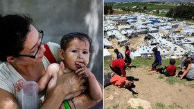 Přeplněné tábory i mučení: Uprchlíky koronavirus ničí. Strhne se nová vlna?