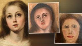 Obraz Panny Marie zpackal restaurátor: Podívejte se na tu hrůzu!