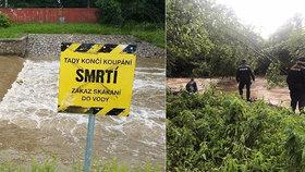 Mladík skočil v Ústí nad Orlicí do řeky: Hledá ho policie a hasiči