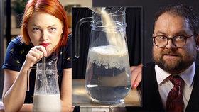 VIDEO: Naši předkové se toho nebáli! Neuvěříte, jak se dříve falšovalo mléko!