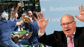 Německá ekonomika se zvedne ze dna po prázdninách, kalkuluje ministr hospodářství