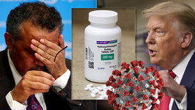 Trump lékařům navzdory: Dál propaguje lék na malárii v boji proti covid-19 a postěžoval si