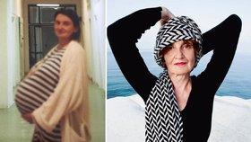 Eva Holubová předvedla fotku s obřím těhotenským bříškem!