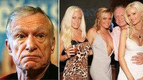 Šokující svědectví o zakladateli Playboye: Sex s Hefnerem trval minutu, dával nám sedativa!