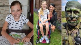 Gabča (16) trpí neobvyklou nemocí buněk, na pomoc přispěchali aktivní záložáci!