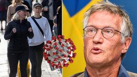 Druhá vlna? Švédsko je v klidu: Nikdy nemělo karanténu a teď mu čísla padají