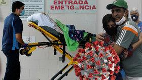 USA překonaly hranici pěti milionů nakažených, Brazílie tří milionů a 100 tisíc mrtvých