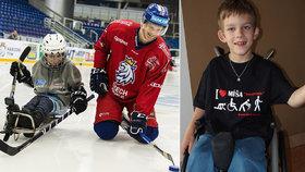 """Handicapované """"Lvice"""" v reality show pomůžou postiženým dětem: Míša si díky nim zahraje para hokej"""