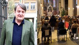 Tajné rozloučení s Ladislavem Štaidlem (†75): 80 přátel se sešlo v centru Prahy