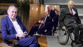 Zeman s vozíkem šel do sebe: Na Sobotku mu nebyl dobrý, kterým politikům dobře slouží?