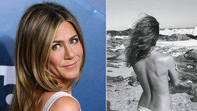 Jennifer Anistonová se odvázala: Významný den oslavila snímkem nahoře bez!