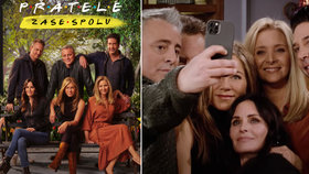 Nová epizoda Přátel je venku! Nostalgický doják, nepovedené scény i hvězdní hosté!