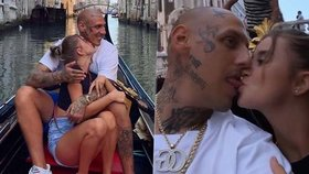 Drsný raper Separ po rozvodu s Tinou: Romantika v Benátkách se sexy brunetkou!