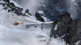 Český horolezec zahynul na Mont Blancu: Padal 300 metrů