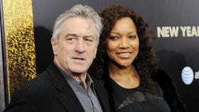 Hvězda Kmotra Robert De Niro se rozvádí: Manželka ho chce oškubat!