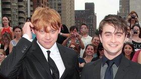 »Doják« pro fanoušky Harryho Pottera! Co popřál Ronovi k miminku představitel Harryho?