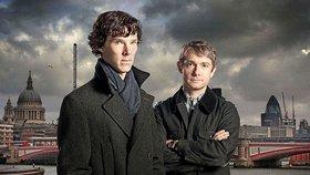 Sherlock Holmes zabránil přepadení u Baker Street: Herec Cumberbatch zadržel jednoho z lupičů