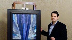 Nejdražší český obraz všech dob Tvar modré se vydražil za 55 milionů!
