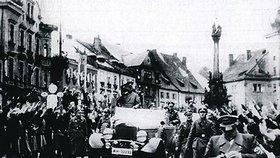 Hitler v Čechách: Když přijel, dal si zeleninové pyré