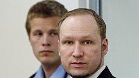 Porušujete moje lidská práva, žaluje vězněný terorista Breivik Norsko