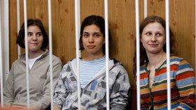 Odškodné pro členky Pussy Riot: Rusko je neprávem trestalo za skandální koncert