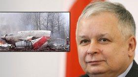 Oběti smolenské katastrofy budou exhumovat. Kaczyński: Možná je zabila bomba