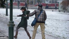 Praha na přelomu ledna a února: Teplota bude kolísat, za tmy pozor na náledí