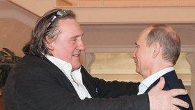 Depardieu uklidňuje Západ: Jednou se v ruské duši najde místo i pro gaye