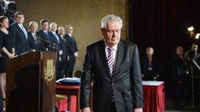 Zeman při ceremoniálu složí slib fanouškovi Drahoše. Co ho čeká v příštích týdnech?
