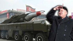 Japonsko hrozí Kimovi: Balistickou raketu KLDR sestřelíme