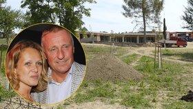 Tady staví Topolánek: Vila za 15 mega už se rýsuje!