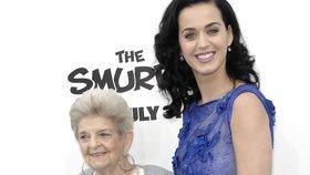 Těhotná Katy Perry truchlí: Přišla o milovanou babičku!