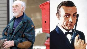 Nejslavnější Bond stále zapomíná: Sean Connery (83) má Alzheimera!