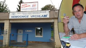 Nemocnice exsenátora Drymla odmítá vyšetřit pacienty VZP. Prý kvůli dluhům