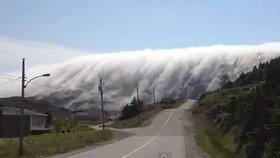 Jako z hororu: Ostrov zavalila děsivá tsunami z mlhy!